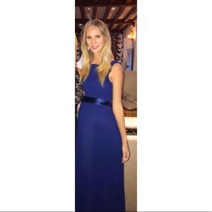 Formal Navy blue dress / or maternity gown
